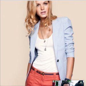 H&M Seersucker Blazer
